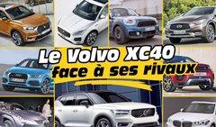Le nouveau SUV Volvo XC40 face à ses concurrents