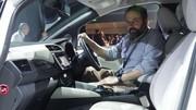 A bord de la Nissan Leaf 2