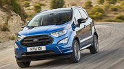 Le petit SUV Ford Ecosport restylé annonce ses prix