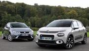 Essai Citroën C3 vs Seat Ibiza : les pointures