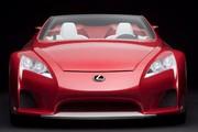 Lexus LF-A roadster : Furie décapitée