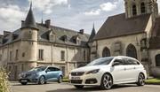 Comparatif : la Peugeot 308 SW restylée défie la Renault Mégane Estate