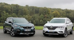 Essai Peugeot 5008 (2017) vs Renault Koleos (2017) : confirmation ou affirmation ?