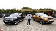 Dacia Duster : le nouveau modèle affronte l'ancien SUV