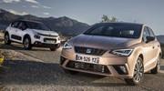 Essai comparatif (2017) : la Seat Ibiza défie la Citroën C3