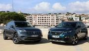 Essai Peugeot 5008 (2017) vs Volkswagen Tiguan Allspace : le match des champions