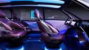 Look particulier et pile à combustible pour le concept Fine-Comfort Ride