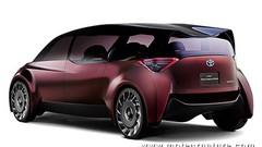 Concept Toyota Fine-Comfort Ride à hydrogène : 1000 km d'autonomie
