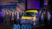 Renault a produit 30 000 Kangoo ZE