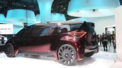 Toyota Fine-Comfort Ride : un modèle à hydrogène pour six