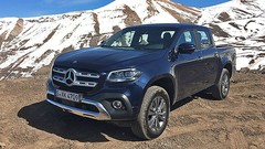 Essai Mercedes Classe X : Le pick-up premium ?