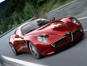 Alfa Romeo 8C Competizione : Trèfle persistant