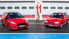 Essai Ford Fiesta XR2i 16v vs Fiesta EcoBoost 140 ch : c'était mieux avant ?