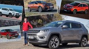 le nouveau Jeep Compass face à ses concurrents