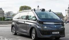 Navya : le premier taxi autonome en test à Paris