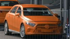 Mercedes Classe A : de nouvelles photos sans camouflage