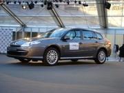 La Renault Laguna Estate élue « Plus belle voiture de l'année 2007 »