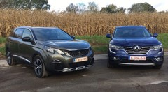 Essai Peugeot 5008 vs Renault Koleos : La République contre-attaque !