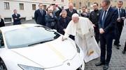 Le pape reçoit en cadeau... une Lamborghini