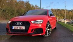 Essai Audi RS3 Berline (2017) : La compacte la plus puissante, est-elle la plus amusante ?