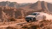 Lamborghini Urus : suite au sable et la neige, voici la terre