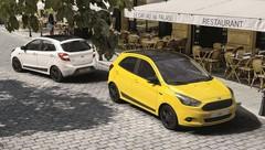 Ford lance la série spéciale Ka+ Color Edition