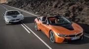 La BMW i8 s'offre un roadster et un lifting pour 2018