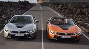 BMW i8 et i8 Roadster : plus d'autonomie