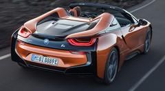 Nouvelle BMW i8 Roadster (2018) : la sportive électrique décapote enfin