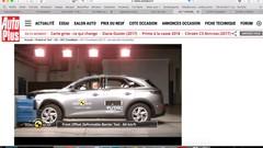 Crash tests : le DS 7 Crossback bien noté, la Citroën e-Méhari un peu moins