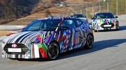 Le nouveau Hyundai Veloster s'offre un camouflage façon Art Car