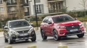 Essai comparatif : le DS7 Crossback défie le Peugeot 3008 GT