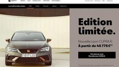 La SEAT Leon Cupra R se réserve en ligne