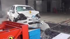 Fiat Punto : aucune étoile au crash-test Euro NCAP 2017