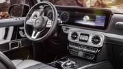 Intérieur très moderne pour le nouveau Classe G de Mercedes