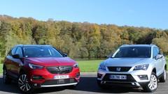 Essai Opel Grandland X vs Seat Ateca : à l'ombre des stars