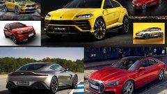 Le top 20 des nouveautés automobiles 2018