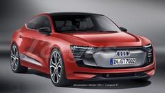 Audi e-tron GT, le coupé sport à 4 portes sur base Porsche Mission-E