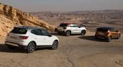 Seat Arona, Citroën C3 Aircross, Renault Captur : Road trip comparatif