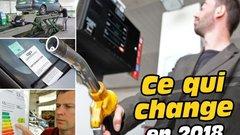 Prix des carburants, amendes, malus... : ce qui change en 2018