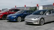La production de la Tesla Model 3 continue à patiner