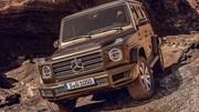 Le nouveau Mercedes Classe G en fuite