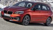 Nouveaux BMW Série 2 Active Tourer et Gran Tourer restylés : affûtage hivernal