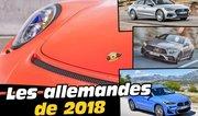 Nouvelles voitures 2018 : toutes les nouveautés allemandes attendues