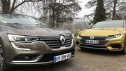 Essai Renault Talisman vs Volkswagen Arteon : généralistes ou premiums ?