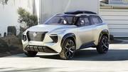 Retour au cubisme pour le concept Nissan Xmotion