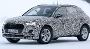 Le futur Audi Q3 montre ses vraies optiques