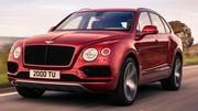 Bentley Bentayga, un V8 de plus de 500 chevaux sous le capot