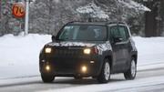 Le futur Jeep Renegade restylé en classe de neige
