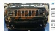 Jeep Renegade 2018 : le restylage en fuite